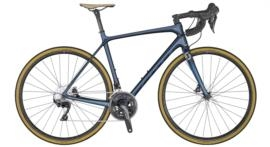 Scott Addict 20 disc dark blue tone blue