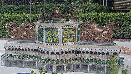 Restored Dragon Fountain
