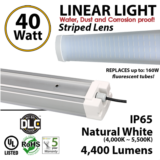 Linear LED strip 40W 4400 lumens