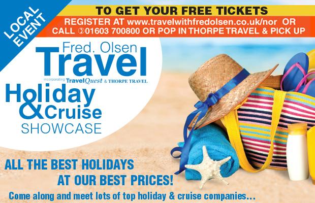 Fred Olsen Travel Agents Norwich