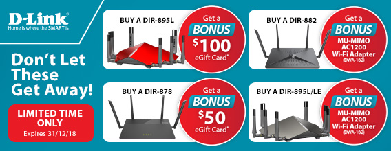 D-Link Hot Offers on Selected Routers - Limited Time Only