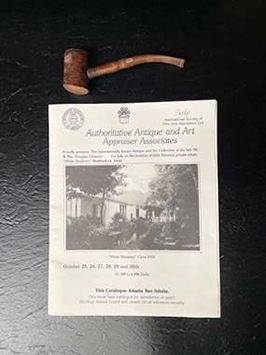 Douglas Chandor's hand-carved tobacco pipe