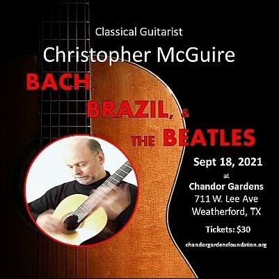 Christopher McGuire Classical Guitarist Concert