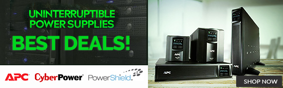 Power Supplies & UPS - APC, Cyber Power, Power Shield - Shop Now