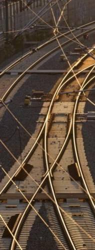 Die Elektrifizierung von Gleisen kann in Zukunft schneller durchgeführt werden.