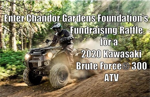 ATV Raffle Prize