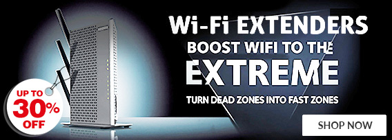 Maximize the power of your network and make sure you have coverage in every corner of your home - Limited Time Only
