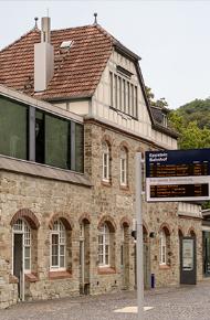 Unser Bahnhof des Jahres 2018 wurde als Pilotprojekt ausgewählt.