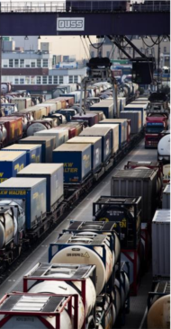 Der Riesen-Lkw kann dem Kombinierten Verkehr nicht helfen.