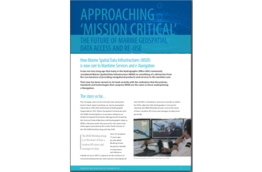 Did you see our article on Approaching Mission Critical