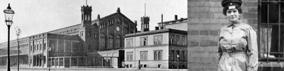 Im heutigen Berliner Ostbahnhof begann die Eisenbahn-Karriere von Clara Jaschke.