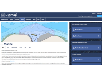 Students benefit from our Marine Mapping via New Online Service