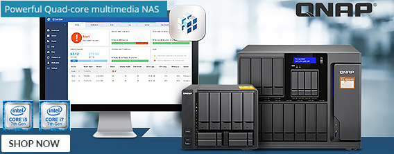 comprehensive range of cutting-edge Network-attached Storage (NAS) and video surveillance solutions - Shop Now