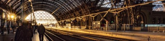 War schon einmal Bahnhof des Jahres: Der Dresdner Hauptbahnhof.