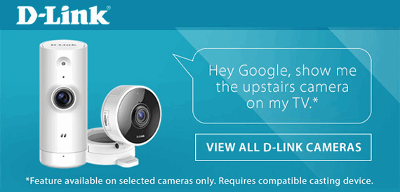 D-Link Wireless Network Cameras are the perfect solution for monitoring