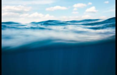 Below the water line