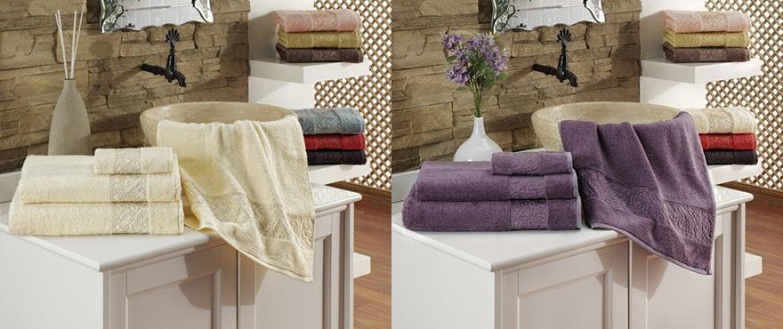 Kvalitn� uter�ky osu�ky issimo Home, vynikaj�ce absorp�n� vlastnosti materi�lu modal, bambus