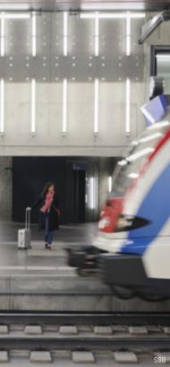 Die SBB ist eine der attraktivsten Arbeitgeber in der Schweiz.