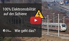 Video: 100 Prozent Elektromobilität auf der Schiene - Wie geht das?
