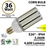 36W LED corn cob light