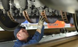 70 Prozent der Güterwaggons privater Betreiber fahren leiser