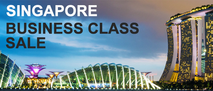 Singapore Business Class Sale