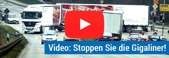 Video: Stoppen Sie die Gigaliner!
