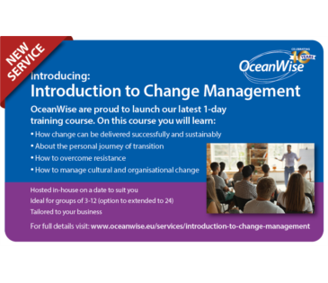New Training Course - Introduction Change Management