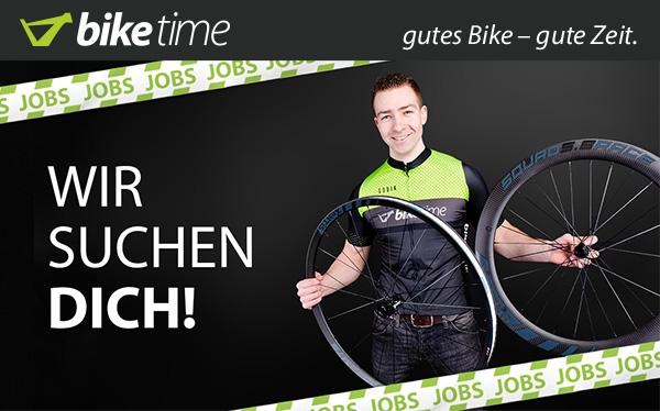 Jobs bei Biketime – Wir suchen dich!