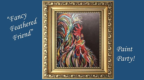 Fancy Feathered Friend Paint Party
