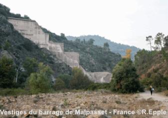 Photo du site de Malpasset