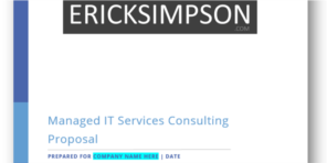 Erick Simpson's MSP Sales Qualifying Questions Reference