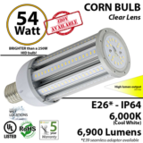 54W LED Corn Cob Bulb