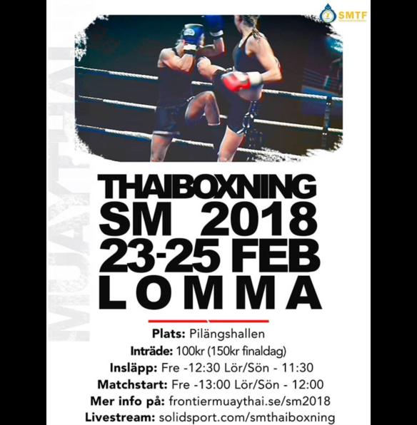 SM Thaiboxning 2018