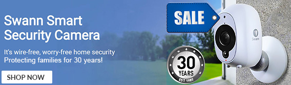 Swann Smart Security Camera - Shop Now