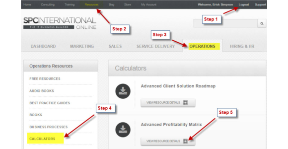 SPC's Managed Services MRR Pricing Calculator