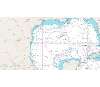 NEW Global Marine Mapping Service: Raster Charts XL 'Oceans'