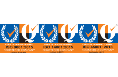 We are now ISO 14001 & 45001 accredited!