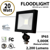 20W LEDFlood Light