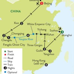 UNMISSABLE CHINA & MIGHTY YANGTZE CRUISE