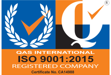 We are now ISO 9001:2015 Accredited!