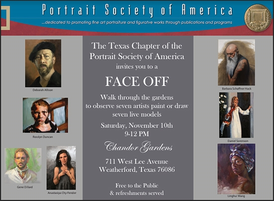 Face Off - Portrait Society of America