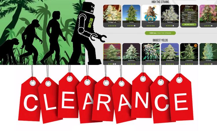 Seeds Clearance Weekend