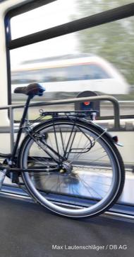Beide als Universitätsfach: Fahrrad und Schiene.