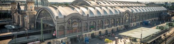 Der Dresdner Hauptbahnhof war bereits Bahnhof des Jahres