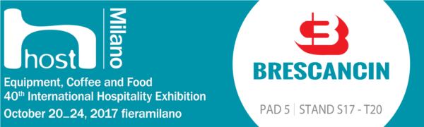 Brescancin wil be attending Host 2017 in Milan