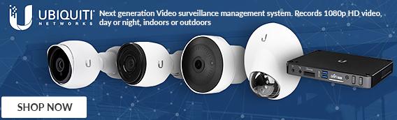 Ubiquiti Networks Surveillance Cameras next gen surveillance management system