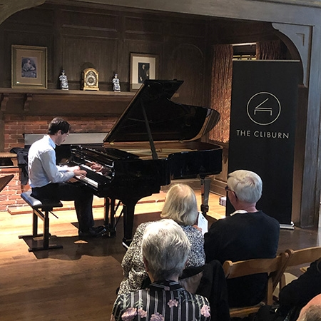 Leonardo Pierdomenico - Cliburn in the Community