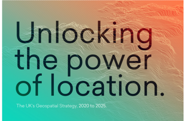 The UK Geospatial Strategy 2020-2025