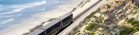 Mit dem Zug durch Kalifornien. Nach den Plänen von US Präsident Biden wird das in Zukunft noch einfacher.